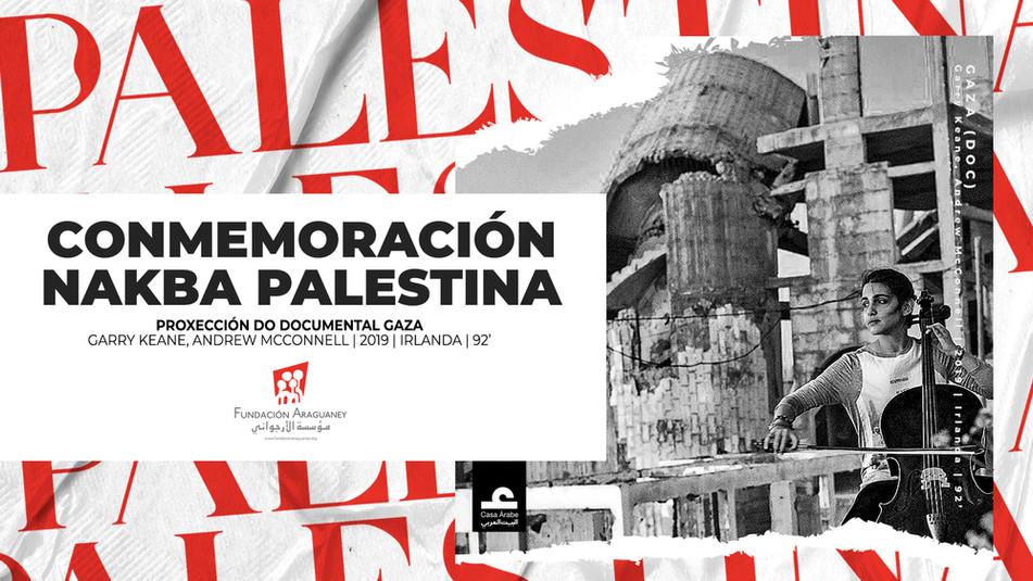 Proyección del documental 'Gaza' para conmemorar el 73º aniversario de la Nakba palestina