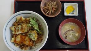 天魚(アマゴ)と季節野菜の天丼 登場!