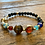 Thumbnail: Unisex Planets Lava Stone Bracelet (energy*uplifting*motivation)