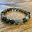 Thumbnail: Unisex Moss Agate Gemstone Bracelet (wellbeing*stability*endurance)