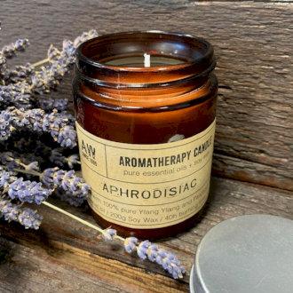 Large Aromatherapy Candle - Aphrodisiac