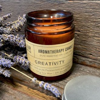 Large Aromatherapy Candle - Creativity