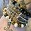 Thumbnail: Unisex Peace Friendship Bracelet. Picasso Jasper & White Howlite