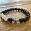 Thumbnail: Unisex Buddha Rose Quartz Lava Stone Bracelet (energy*uplifting*loving)