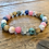 Thumbnail: Unisex Harmony Friendship Bracelet. Rainbow Gemstones