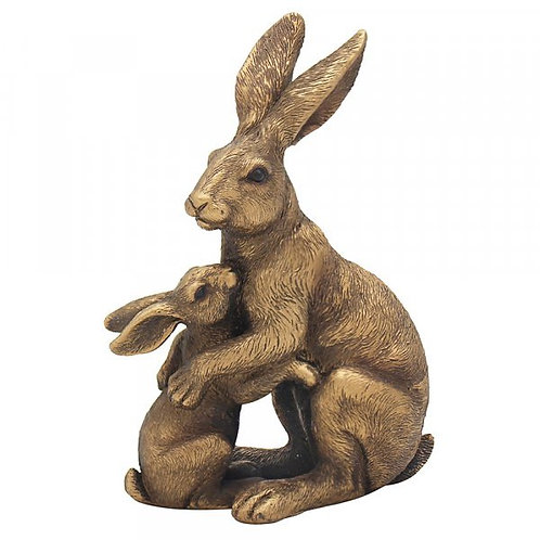 Hare with baby