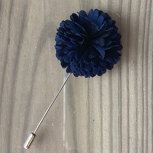 Blue Flower Scarf Pin