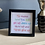 Thumbnail: Black Greeting Card Picture Frame (card not included)