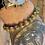 Thumbnail: Unisex Green Jasper Gemstone Bracelet (calming*relaxing*uplifting)