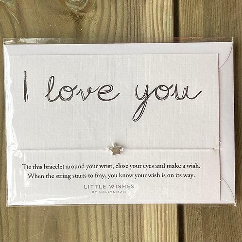 Bracelet I Love You