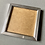 Thumbnail: Silver Greeting Card Picture Frame (card not included)