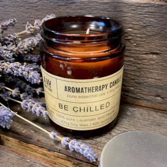 Large Aromatherapy Candle - Be Chilled