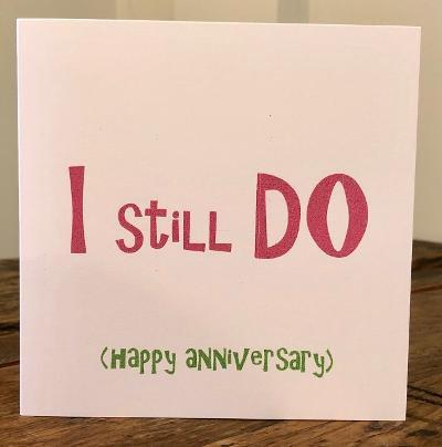 I still do greeting card