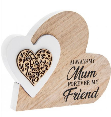 Standing Heart Always my mum forever my friend
