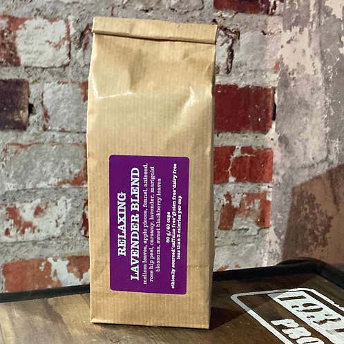 RELAXING LAVENDER BLEND HERBAL INFUSION