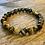 Thumbnail: Unisex Tiger Eye Gemstone Bracelet (harmony*balance*focus)
