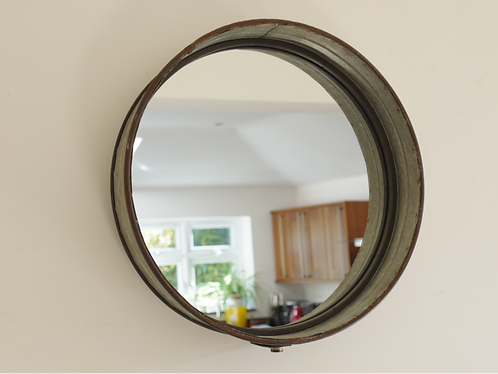 Galvanised Mirror