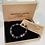 Thumbnail: Unisex Eternity Friendship Bracelet. Leopard Skin Jasper & Lava Stone