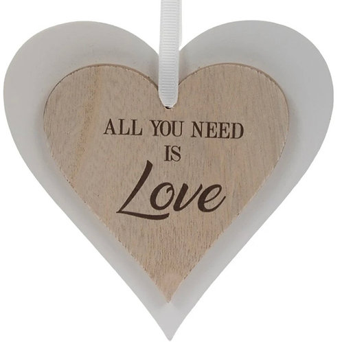 Wooden Heart All you need is love