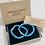 Thumbnail: Two Piece Set Silver Buddha Turquoise Gemstone Bracelets
