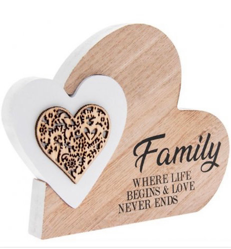 Standing Heart Family where life begins and love never ends