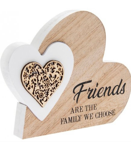 Standing Heart Friends are the family we choose