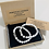 Thumbnail: Two Piece Set Silver Buddha White Turquoise Gemstone Bracelets