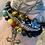 Thumbnail: Unisex Elephant Lava Stone Bracelet (energy*uplifting*motivation)
