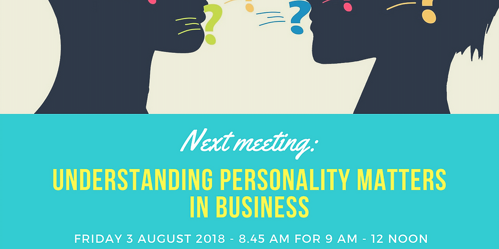 Micro Business Forum Meeting 3rd August 2018