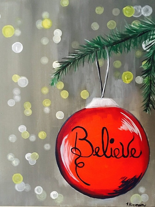 Believe Ornament Kit (F)