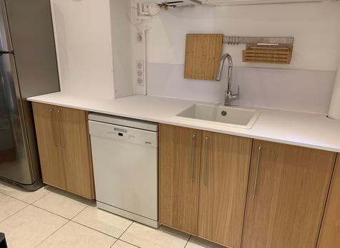 Rénovation de cuisine - Kitchen renovation.