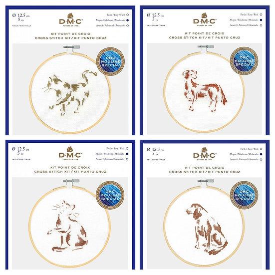 Cats and Dogs - DMC Cross Stitch kits