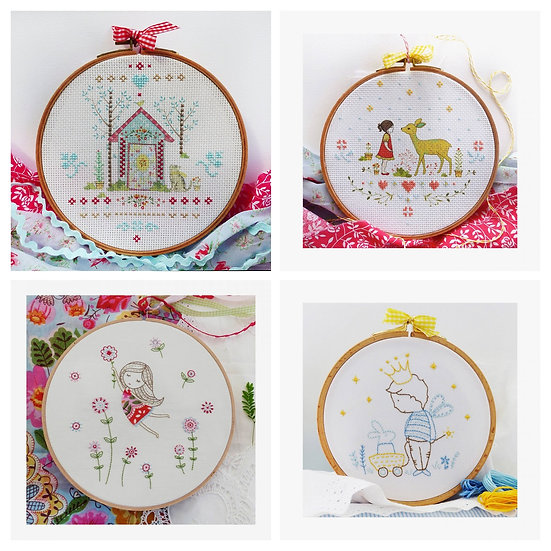 Tamar Collection - DMC Embroidery and Cross Stitch kits