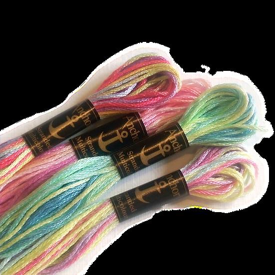 Anchor Multicolour Stranded Cotton