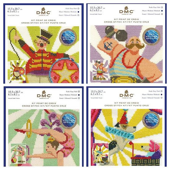 Circus Cross Stitch kits - DMC
