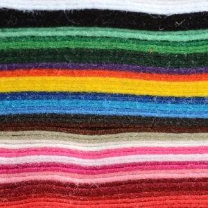 Wool Mix Felt Squares
