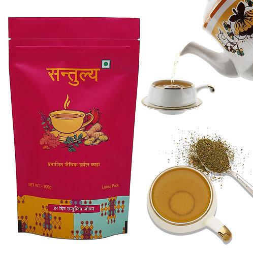 SANTULYA Certified Organic Herbal Tea, 100gm Loose pack