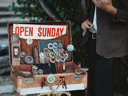Antigüedades venta de garaje