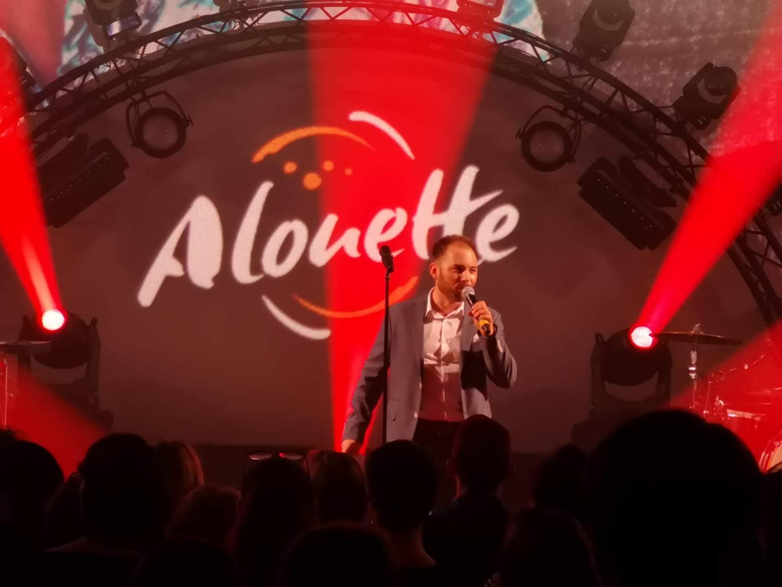 présentation concert privé ALOUETTE