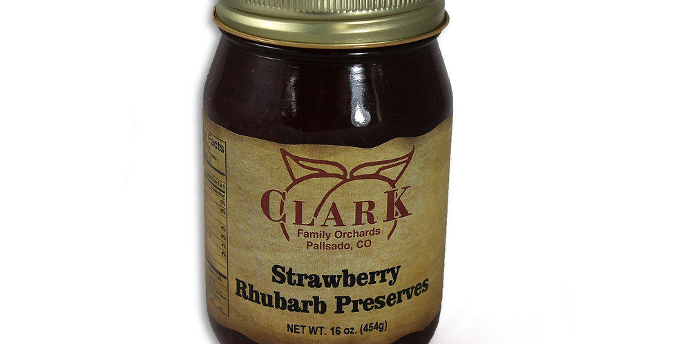 Strawberry Rhubarb Preserves