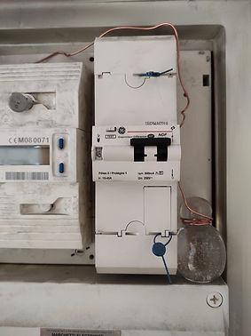 système énergétique compteur électrique Géobiologie Anne Maurice