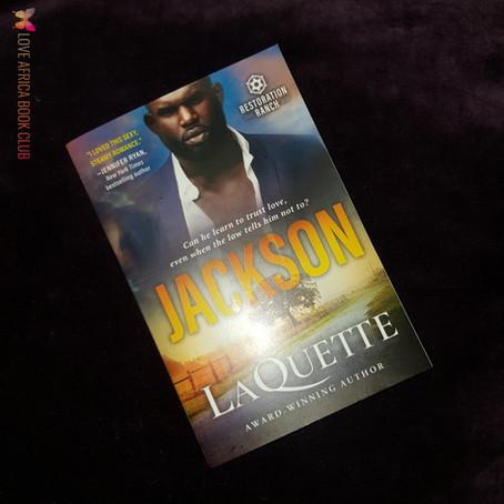 BOOK REVIEW: Jackson by LaQuette #romance #suspense