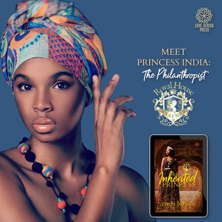 #InTheHotSeat Princess India from His Inherited Princess by @EmpiBaryeh #RHOSaene #Romance #Africa