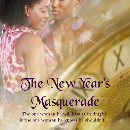 The New Year's Masquerade by Elise Marion #HolidayRomance