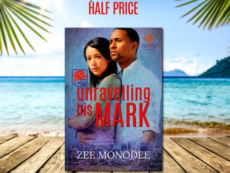 Escape to Mauritius | UNRAVELLING HIS MARK by Zee Monodee #RomanticSuspense #halfprice