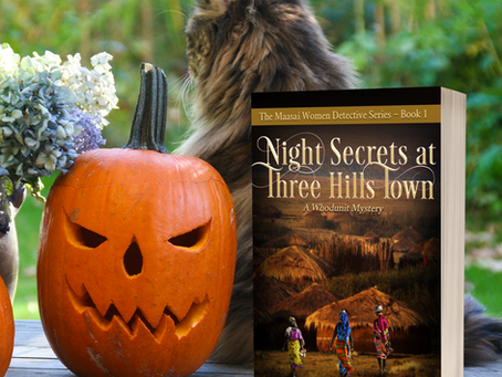 Night Secrets at Three Hills Town by E. K. Omosa #mystery #Africa @iGrowideas