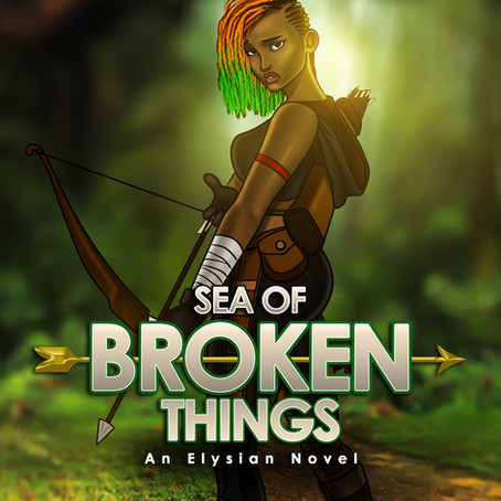 SEA OF BROKEN THINGS by Aminat Sanni-Kamal #Fantasy @thisblackwoman_