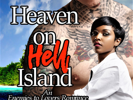 Stranded on a mysterious deserted island | HEAVEN ON HELL ISLAND @SheaSwainWrites #PNR #Interracial