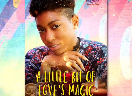 #BookRelease A LITTLE BIT OF LOVE'S MAGIC by Bambo Deen #FFRomance @rafeeeeta