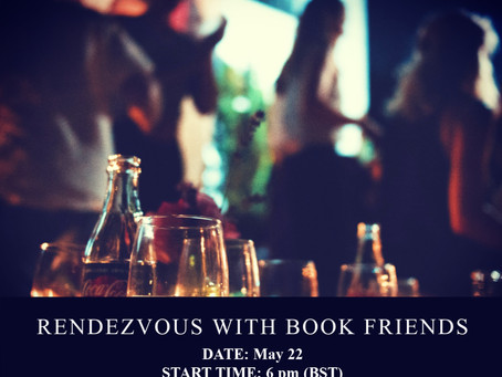 Rendevous with Book Friends online event | RSVP now and you could win